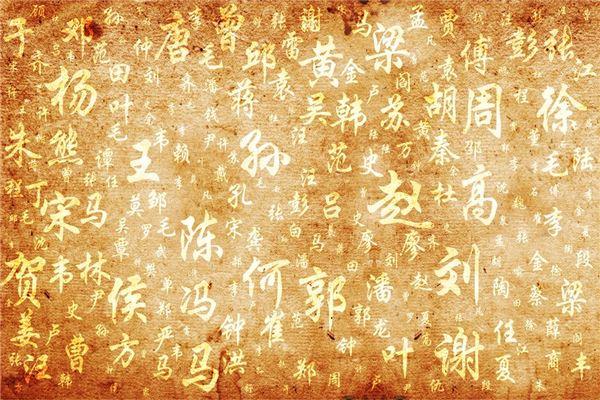 龙姓女宝宝名字浅谈姓名的发源与演变